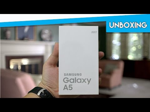 Unboxing SAMSUNG A5 2017 INDONESIA