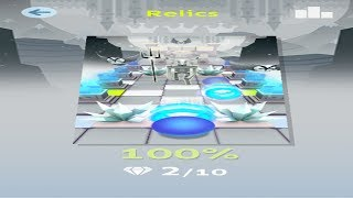 Rolling Sky Level 20 Relics - Completed - Easy Way 100%