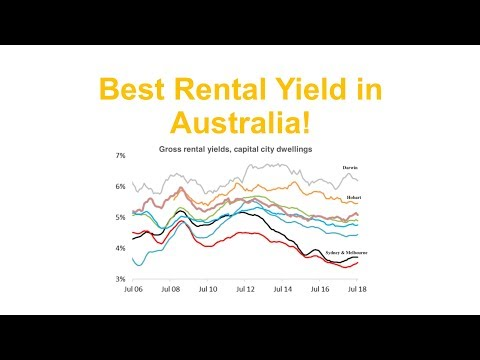 Darwin - The Best Rental Yields in Australia - August 2018