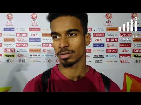 أكرم عفيف لاعب المنتخب القطري يتحدث عن منتخب عمان الأولمبي