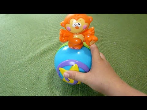 Review of Fisher Price Go Baby Go! Crawl Along Musical Monkey on a Ball