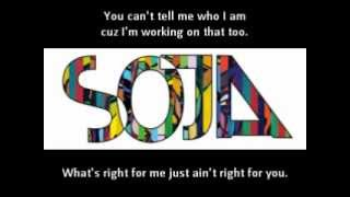 S.O.J.A.  Can´t tell me