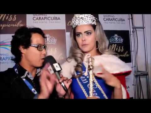 vídeo Finalistas do Miss Carapicuíba 2017