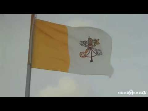 Oh the Weather Outside is Frightful...But Our Vatican Flag is So Delightful!