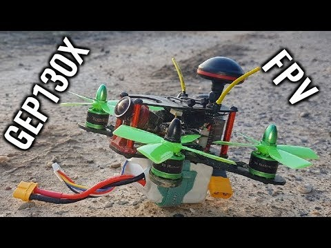 130mm Mini Quadcopter - 4s - GEP130 - Betaflight 3.1 - Full Throttle