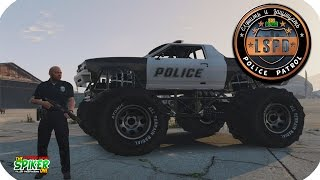 GTA 5 Полицейский патруль : Police Monster. Ночные перестрелки- GTA 5 Моды