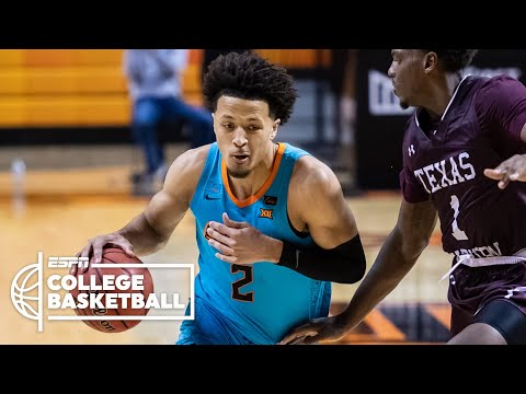 Cade Cunningham scores 20 points in Oklahoma State home opener  ESPN College Basketball