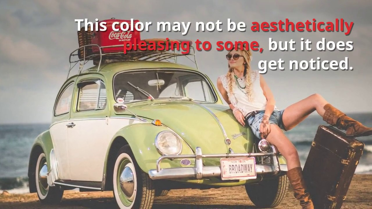 what color car is the safest to drive