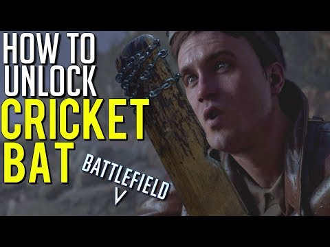 BFV Cricket bat UNLOCK guide! (Letters/Challenges) Under no flag