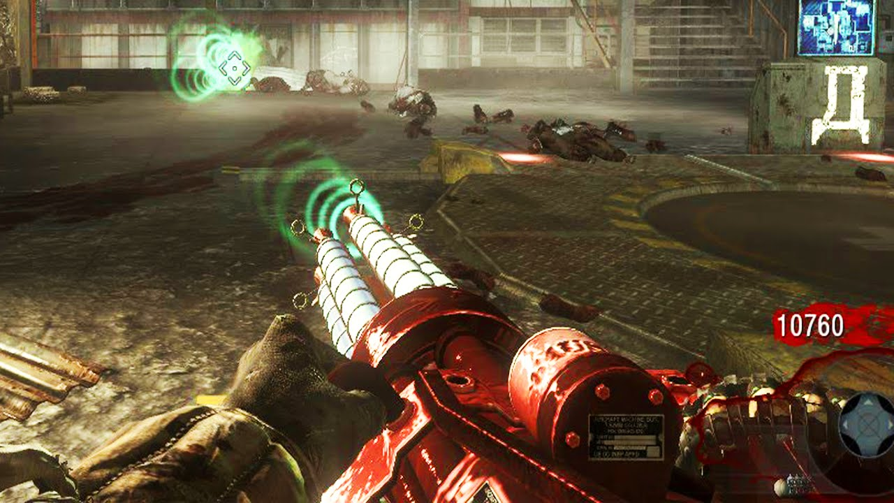 Black Ops Zombies Death Ray Machine Gun Mod Call Of Duty Black