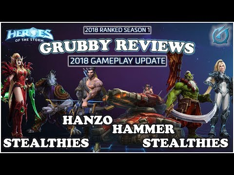 Grubby | Heroes of the Storm - 2018 Game-change Updates and