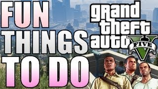 "Fun Things To Do In Gta 5! - Jet Skis, Hoes, Weed, Stunts, Planes Etc""grand Theft Auto V Gameplay"""