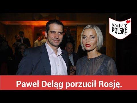 Paweł Deląg porzucił Rosję. Wszystko dzięki Małgorzacie Foremniak?