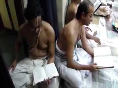RATNA SAMANYA PATHATHI RECITATION;PARAYANAM ; PADUKA SAHASRA PARAYANAM AR SRI KRISHNA SABHA