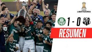 Palmeiras 1-0 Santos | RESUMEN | FINAL | CONMEBOL Libertadores 2020