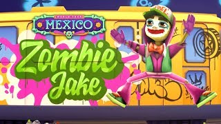Unlocked Zombie Jake Serious Outfit - Subway Surfers World Tour 2019 Halloween - Mexico