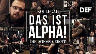 Das ist Alpha! – Defshop Exklusiv Event mit Kollegah