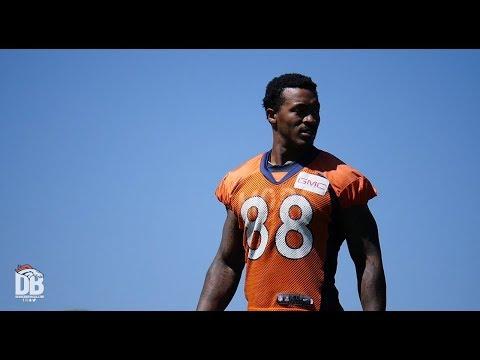 Demaryius Thomas, Emmanuel Sanders lead Broncos wide receivers in OTA drills