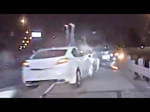 Dashcam Shows Fort Worth Officer Hit By Car During Traffic Stop