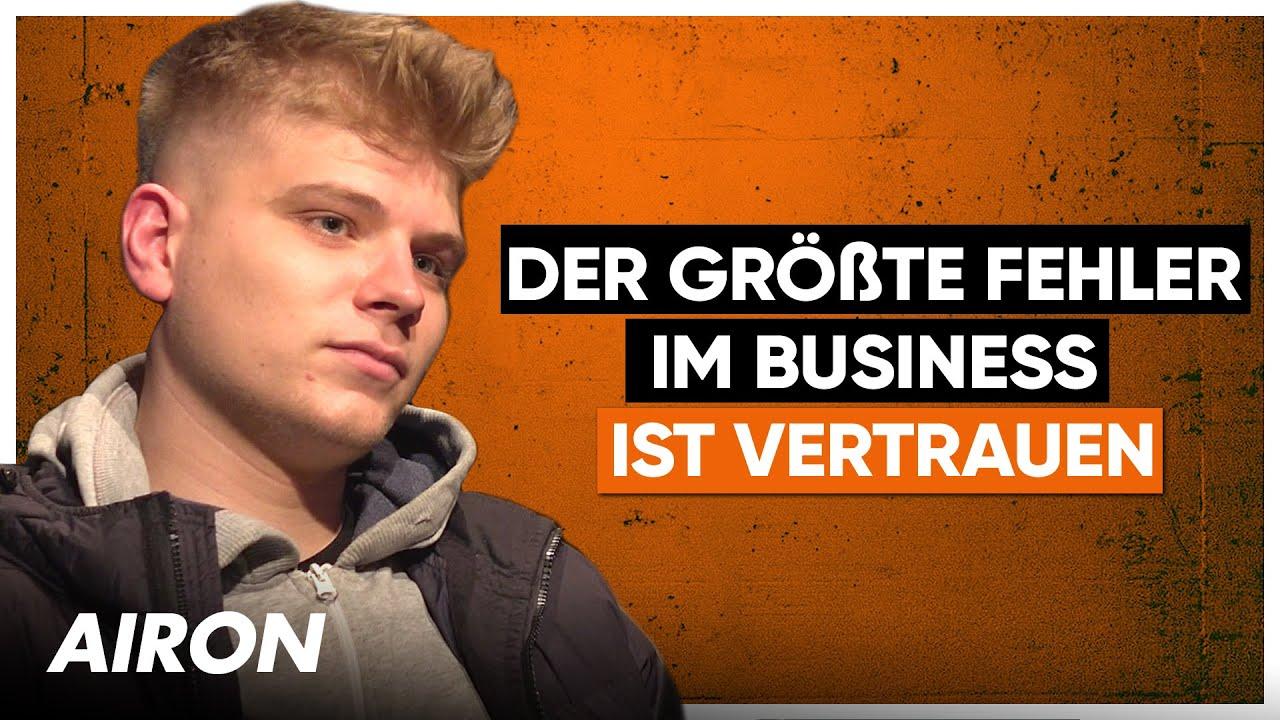 AIRON Interview: Geplatzter 200.000€ Deal, Tourankündigung, Kasimir1441, Kindheit, Bushido, Knossi