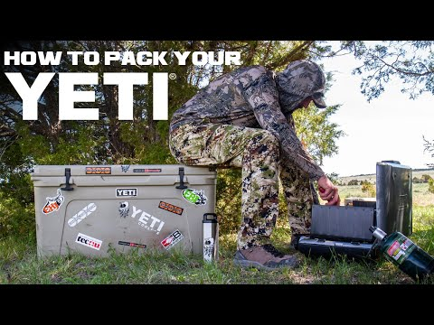 How To Pack a Cooler!