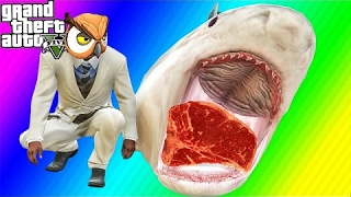 VanossGaming GTA 5 Next Gen Funny Moments -  3D Titans, Tank Rodeo, Troy Bike Challenge !