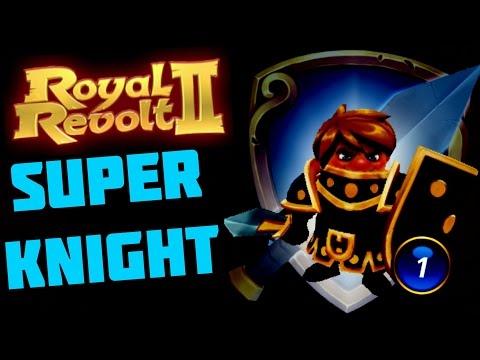 ROYAL REVOLT 2 - SUPER BLAZING KNIGHT (+30% Power!)