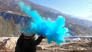 HOW TO MAKE COLORED SMOKE GRENADES NEW WAY