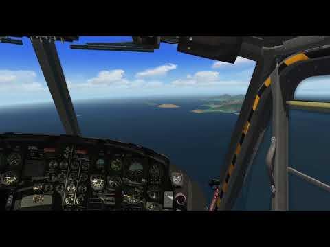 Caribbean Special -- Bell-412 + DHC-6 + Diamond DA62 -- TNCM-TFFJ-TNCE-TKPN -- X-Plane 11.11