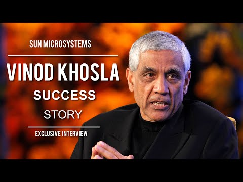 Vinod Khosla interview - co-founder of Sun Microsystems