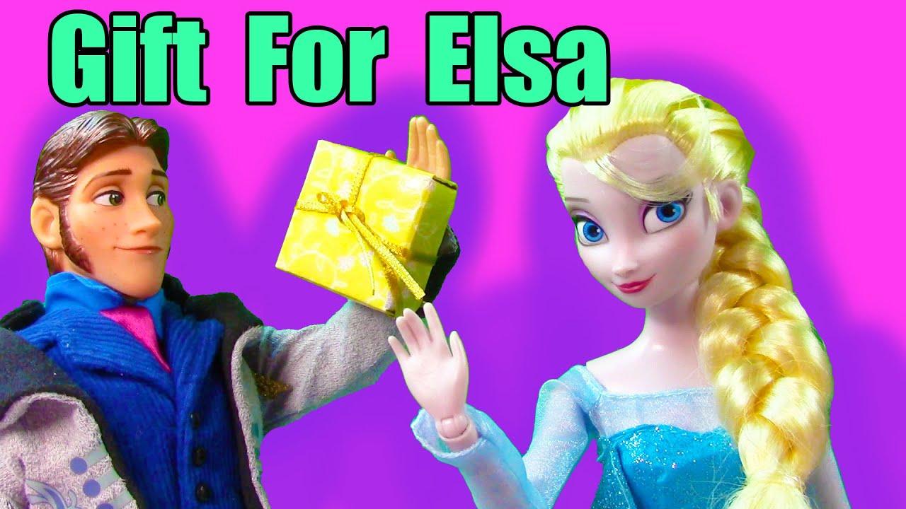 Disney Frozen Queen Elsa Gift Prince Hans Princess Anna