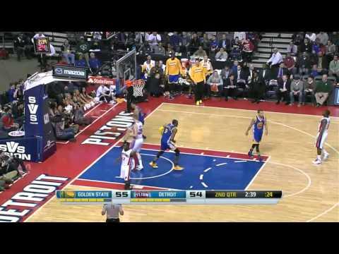 Golden State Warriors vs Detroit Pistons | February 24, 2014 | NBA 2013-14 Season