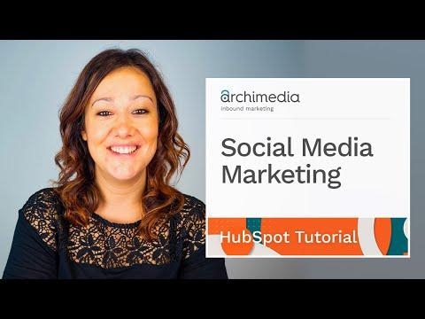 HubSpot Tutorial - Social Media Marketing thumbnail