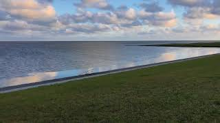 Nordsee 360 Deich Impressionen Hamswehrum (Krumhörn) Greetsiel 360 dike view North Sea Lower Saxony