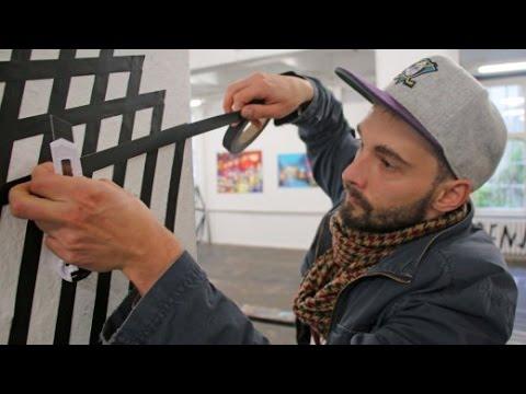 """Tape Art"": Ritsch, Ratsch, Klebekunst"