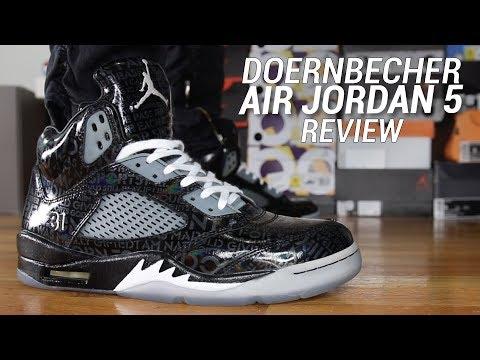 AIR JORDAN 5 DOERNBECHER REVIEW