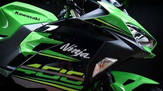 The Kawasaki  Ninja 400 2018