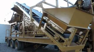 mobile impact crusher with screen hmv 1313