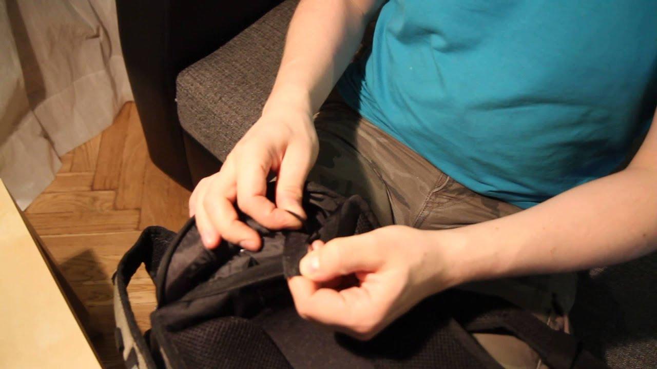 Рюкзак Kandelabr - Roll Top, Black. Обзор - YouTube