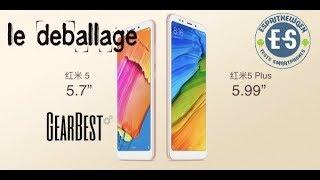 Xiaomi Redmi 5 déballage et prise en main