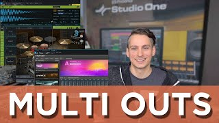 Working with Multi Output Instruments (feat. Superior Drummer 3, Kontakt 6)