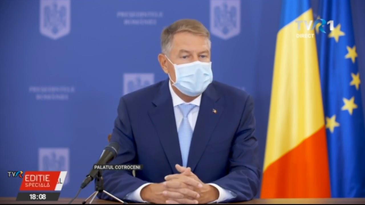 Conferinţă de presă Klaus Iohannis, după şedinţa privind rectificarea bugetară