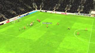 Valencia - R. Madrid - Gol de Rodr�guez 2 minutos