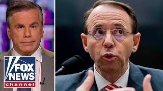 Tom Fitton on Rosenstein and push to declassify documents