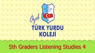 5th Graders Listening Studies 4