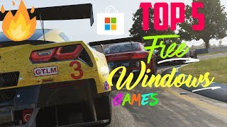 Top 5 Games in Windows 10 Store PC  2018 + with Links 