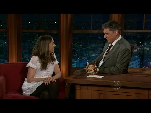 Late Late Show with Craig Ferguson 3/11/2011 Amanda Peet, Phil Hanley