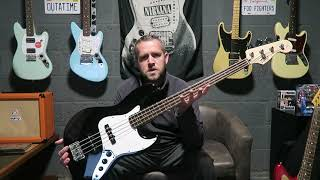 Squier By Fender Affinity Jazz Bass | Review Demo