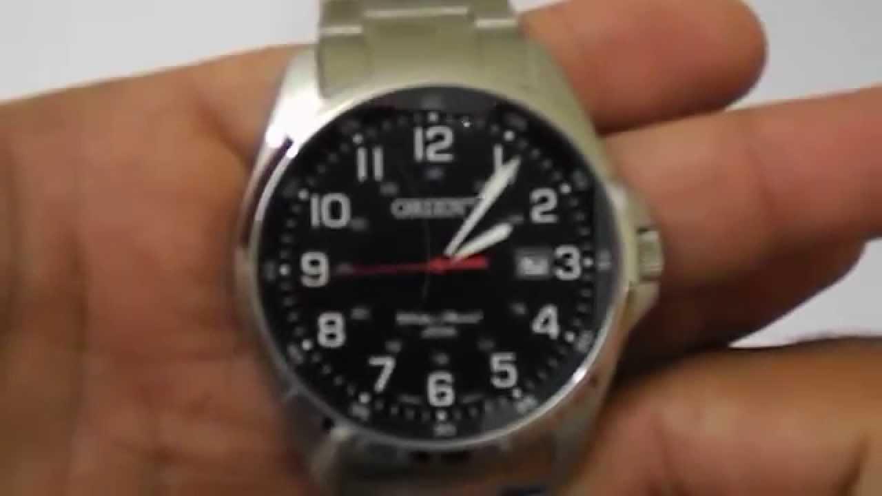 66bbdbe1354 Relógio Masculino Orient Mbss1171 - YouTube