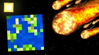 Minecraft NATURAL DISASTERS MOD | VOLCANOES, METEORS, EARTHQUAKES & MORE!!